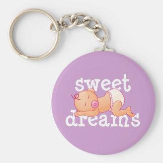 Sweet Dreams Baby Keychain