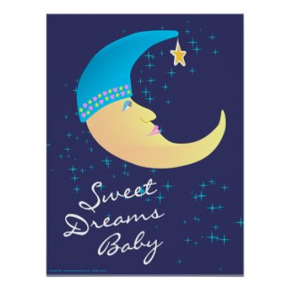 Sweet Dreams Baby Poster Print