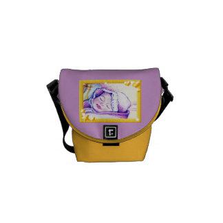 Sweet Dreams Baby Rickshaw Mini Messenger Bag