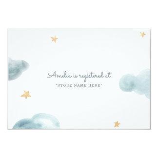 Sweet Dreams Baby Shower Insert Card