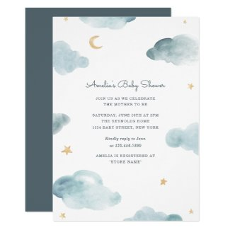 Sweet Dreams Baby Shower Invite