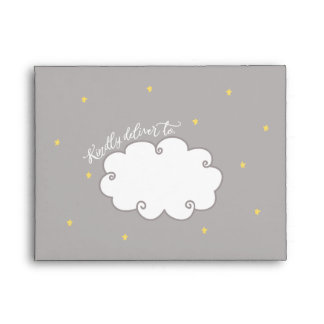 """Sweet Dreams"" Baby Shower Thank You Envelope"