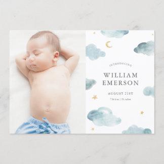 Sweet Dreams Birth Announcement