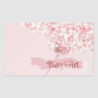 Sweet Dreams Butterfly Baby Girl, Stickers
