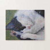 Sweet Dreams Cat Puzzle puzzle
