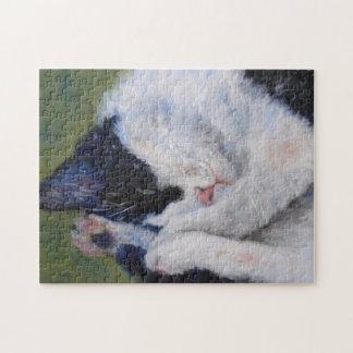 Sweet Dreams Cat Puzzle