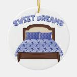 Sweet Dreams Ceramic Ornament