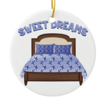 Sweet Dreams Ceramic Ornament