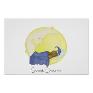 Sweet Dreams - Childs Poster