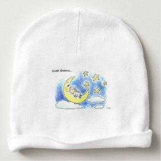 sweet dreams cute sleeping baby nursery baby beanie