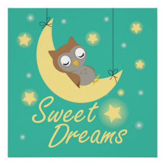 Sweet Dreams design for children Poster