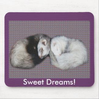 Sweet Dreams Ferrets Mousepad