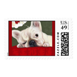 Sweet Dreams French Bulldog Postage