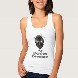 Sweet Dreams! - Funny Grumpy Owl Saying T Shirt