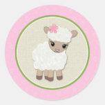 Sweet Dreams LAMB Baby Shower sticker SDK#5