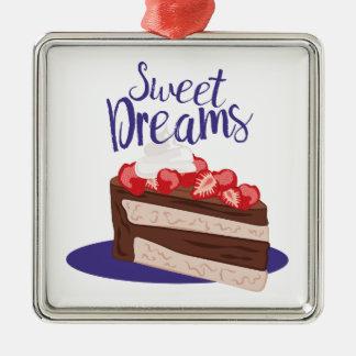 Sweet Dreams Metal Ornament