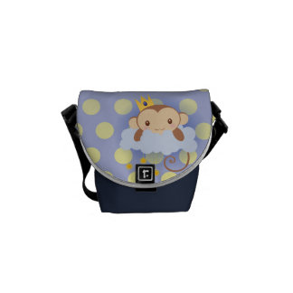 Sweet Dreams Monkey Messenger Bag