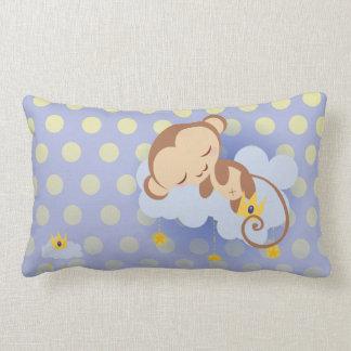 Sweet Dreams Monkey Throw Pillow Lumbar