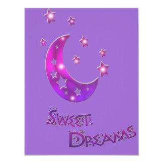 ~*Sweet Dreams*~ Moon and Stars Card