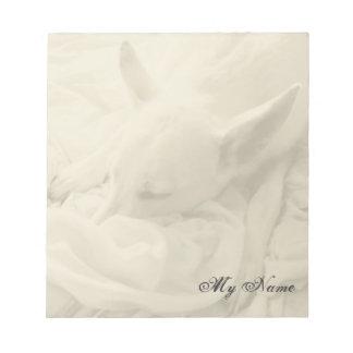 """Sweet Dreams ~ Notepad / 5.5""""x6"""" / 1 Side"""