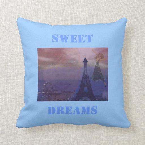 Sweet Dreams Paris Pillows