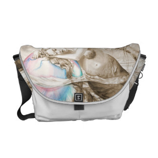 Sweet Dreams (Sepia) Messenger Bag