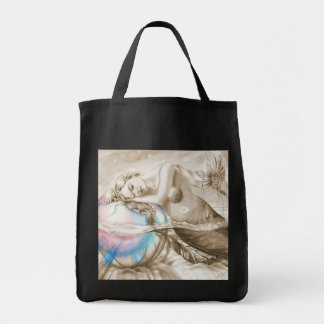 Sweet Dreams (Sepia) Tote Bag