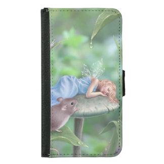 Sweet Dreams Sleeping Fairy Galaxy S5 Wallet Case