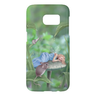 Sweet Dreams Sleeping Fairy Samsung Galaxy S7 Case