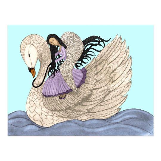 Sweet Dreams (The Angel & The Swan) Postcard
