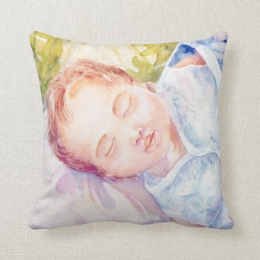 Beach Themed Sweet Dreams Throw Pillow