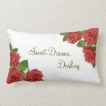 """Sweet Dreams Throw Pillow Lumbar 13"""" x 21"""""""