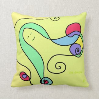 Sweet Dreams Throw Pillows