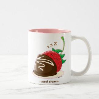 Sweet Dreams Two-Tone Coffee Mug
