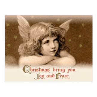Sweet dreamy child angel CC0782 Christmas Postcard