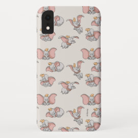 Sweet Dumbo Pattern iPhone XR Case