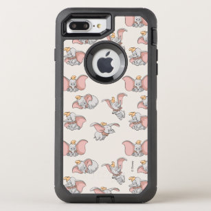 low priced 06363 7a433 Sweet Dumbo Pattern OtterBox Defender iPhone 8 Plus/7 Plus Case