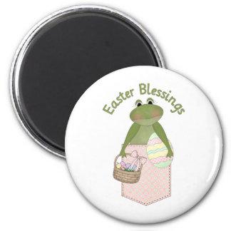 Sweet Easter Blessings Frog Pocket Tees, Gifts Magnet