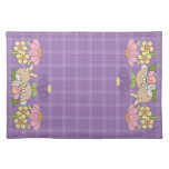Sweet Easter Flowers Placemats