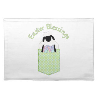 Sweet Easter Lamb Tees and Gifts Cloth Placemat