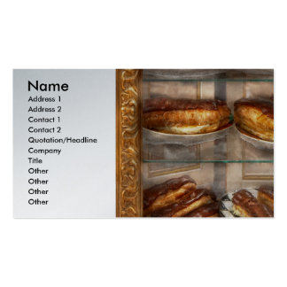 Sweet - Eclair - Chocolate Eclairs Business Card Templates