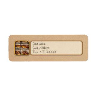 Sweet - Eclair - Chocolate Eclairs Return Address Label