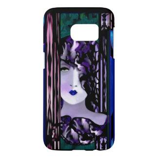 Sweet Elegance Samsung S7 iPhone Case-Blue/Teal Samsung Galaxy S7 Case