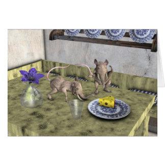 Sweet Elephant Mice Card
