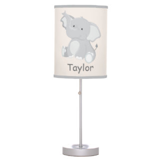 Sweet Elephant Nursery Table Lamp
