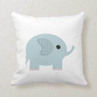 Sweet Elephants Nursery Decor Pillow