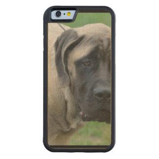 Sweet English Mastiff Carved® Maple iPhone 6 Bumper