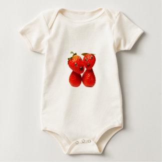 Sweet Erdbeer friends Baby Bodysuit