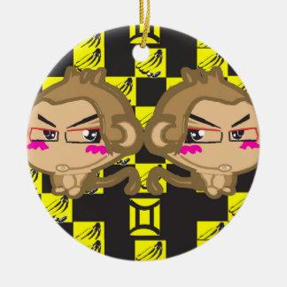 Sweet eScape 1: The Gemini Fun Monkey Design Ornaments