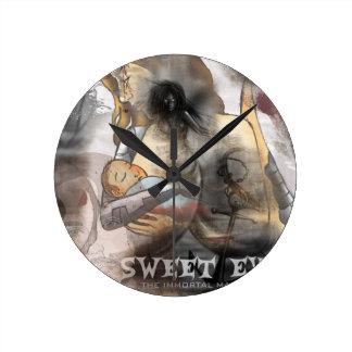 Sweet Eve - The Immortal Machine Wall Clock